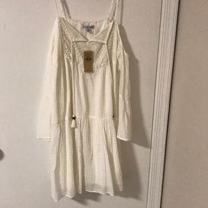 American eagle cold shoulder dress